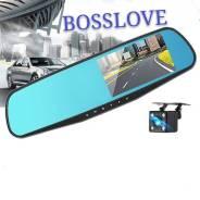 Зеркало видеорегистратор Full HD 1080+ камера. Vehicle Blackbox DVR во