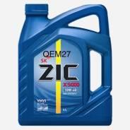 ZIC X5000. 10W-40, полусинтетическое, 6,00л.