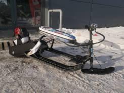 Снегокат с мотором, 2019. исправен, без псм, без пробега