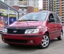 Дефлектор капота Hyundai Matrix > 2001-2007 /VIP Tuning/