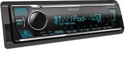 Автомагнитола Kenwood KMM-BT306 /USB/MP3/блютуз 1DIN процессорная