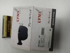 BD-4601 Колодки тормозные дисковые | перед | LYNXauto