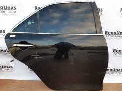 Дверь задняя правая Toyota Camry 50 55 в сборе черная