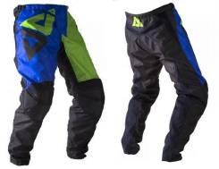 Штаны ATAKI Strike размер:М синие/зеленые