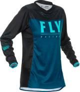 Джерси женская FLY RACING WOMEN'S LITE размер:L синяя/голубая/черная (2020)