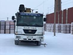 Daewoo Ultra Novus. Продаётся c крановой установкой Soosan г/п 10 тонн, 10 964куб. см., 20 000кг., 10x6