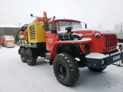 Урал 4320. ПБУ-2 Урал-4320 буровая установка с компрессором кВ 12/12 с Урб 2а2