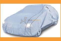 Чехол-тент на автомобиль защитный, размер M (495х195х120см), цвет серый, молния для двери, универсальный ACFC02 AIRLINE ACFC02