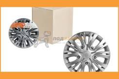 Колпаки колесные 15 Лион, серебристый, карбон, компл 2 шт Airline / AWCC1501