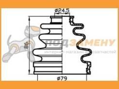 Пыльник ШРУСа (80x95x24,5) TRUSTAUTO / TACB1033