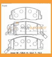 Колодки тормозные дисковые ADVICS / SN826P