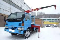 Mazda Titan. Бортовой грузовик с манипулятором, длинный, Резина R16 в круг, 4 600куб. см., 3 000кг., 4x2