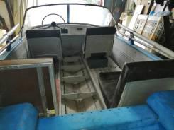 Обь-3. 1987 год, длина 4,30м., двигатель без двигателя, 30,00л.с., бензин