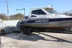 Silver Star Cabine. 2006 год, длина 6,50м., двигатель подвесной, 175,00л.с., бензин