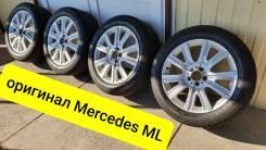 """255-50-19 зима, оригинал Mercedes ML, в наличии. 8.5x19"""" 5x112.00 ET52 ЦО 66,5мм."""