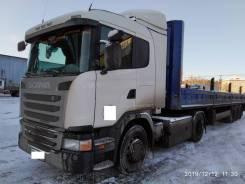 Scania. Седельный тягач Скания G340, 2018 года. НА ГАЗУ, 11 000куб. см., 20 000кг., 4x2