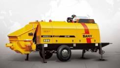 Sany. Бетононасос стационарный (буксирный) SANY HBT80C-1818DIII, 320,00м.