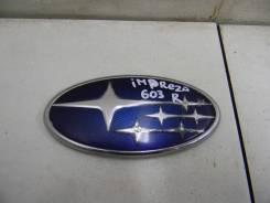 Эмблема на крышку багажника Subaru Impreza (G12) 2007-2012