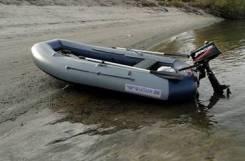 Лодка надувная ПВХ Флагман 300НТ моторно-гребная, НДНД, Новая