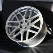 "X. O. Luxury Moscow 19"" 5x112 Silver Brushed Face"