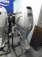 Honda. 50,00л.с., 4-тактный, бензиновый, нога S (381 мм), 2009 год