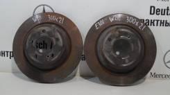 Тормозные диски задние (300 мм) Mercedes-Benz W211/W219 (DeutschAutos)