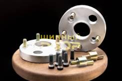 Переходник-адаптер с направляющей 25 мм 4-98-58,6/5-114,3-60,1 болты 12х1,25 + эксцентрик