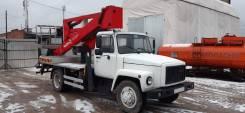 Чайка-Сервис. Автогидроподъемник Чайка-сервис 27846R на шасси ГАЗ-3309, 4 750куб. см., 22,00м.