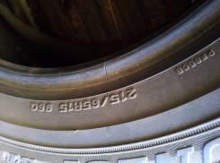 Dunlop. зимние, без шипов, 2011 год, б/у, износ 70%