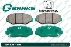 Колодки тормозные. Honda: CR-V, Element, e, Stepwgn, MR-V, Accord, Pilot J35A4, J35A6, J35A9, J30A4, K20A7, K20A8, K24A4, K24A8, K20A, K20A4, K20A5, K...