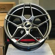 "Japan Racing JR34 19"" 5x120 Hyper Black"