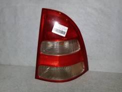 Фонарь (стоп сигнал) Toyota Corolla Fielder, правый задний