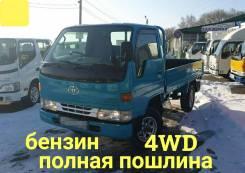 Toyota Dyna. 4WD, борт 1,5 тонны, 2 000куб. см., 1 500кг., 4x4