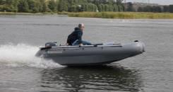 Лодка надувная Катамаран ПВХ Флагман 380К , НДНД, Новая