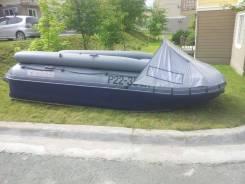 Лодка надувная Катамаран ПВХ Флагман 420К , НДНД, Новая
