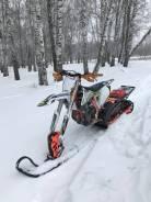 Сноубайк KTM 450 SX-F 2016, гусеница Snowrider 137, 2018