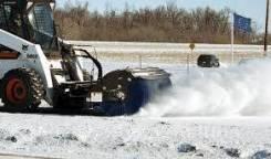 Уборка снега Bobcat Аренда Услуги Bobket