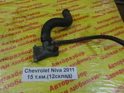 Фланец двигателя системы охлаждения Chevrolet Niva Chevrolet Niva 2011