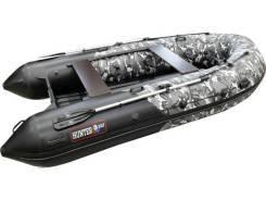 Моторная лодка Хантер 360 А серый КМФ