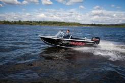 Моторная лодка Салют Realcraft. 2020 год, длина 4,50м., двигатель без двигателя. Под заказ