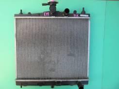 Радиатор охлаждения двигателя Nissan Note, E11, CR14DE/HR15DE/HR16DE