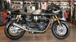 Triumph Thruxton 1200. 1 200куб. см., исправен, птс, без пробега