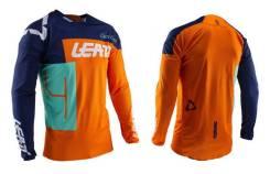 Джерси подростковая Leatt GPX 3.5 Junior Jersey Orange размер:L (140-150cm) 5020001962