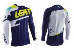 Джерси Leatt GPX 4.5 Lite Jersey Blue размер:L (5020001232)