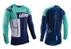 Джерси Leatt GPX 4.5 Lite Jersey Aqua размер:S (5020001190)