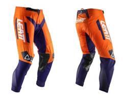 Штаны подростковые Leatt GPX 3.5 Junior Pant Orange размер: S(120-130cm) 5020002030