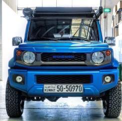 Накладка на капот. Suzuki Jimny, JB64W K15B, R06A