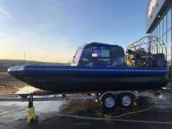 Север Фантом 650К. 2019 год, длина 6,60м., двигатель стационарный, 290,00л.с., бензин