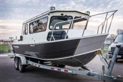Алюминиевый катер Wooldridgeboats Pilothouse 25 (новый)