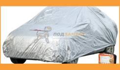 Чехол-тент на автомобиль защитный, размер S (455х186х120см), цвет серый, молния для двери, универсальный ACFC01 AIRLINE ACFC01